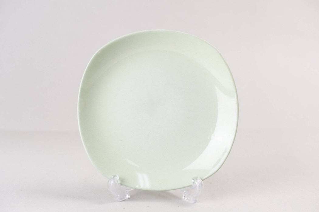 Johnson/Sovereign Pottery Pastel Green Side Plate - Greystones Antiques