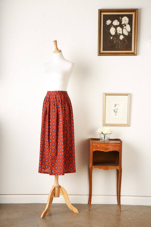 A 1970s Yves Saint Laurent Skirt - Greystones Antiques