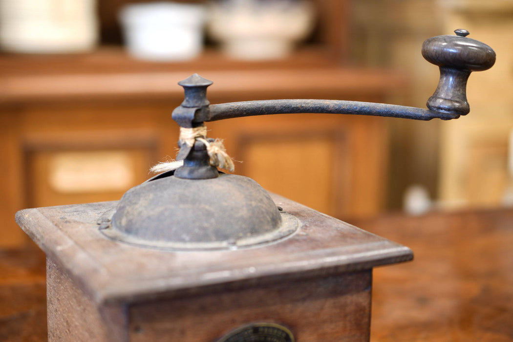 A Peugeot Coffee Grinder Made in France C.1930. - Greystones Antiques