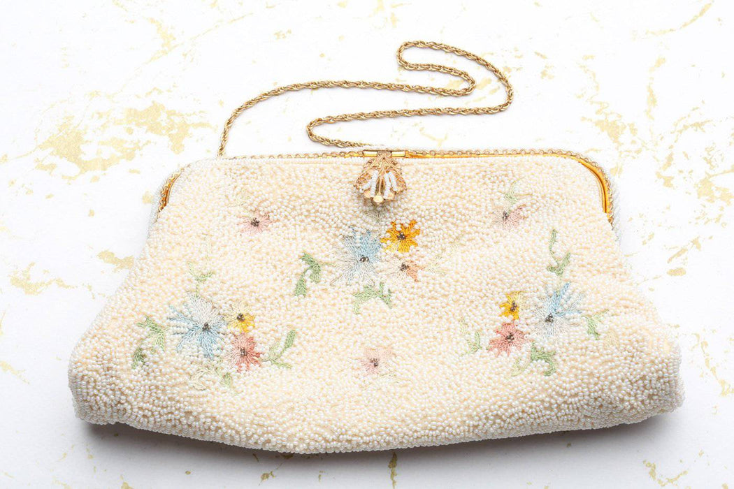 A 1930s French Handmade Evening Bag - Greystones Antiques