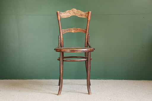 A European Bentwood Chair Early 20th Century - Greystones Antiques