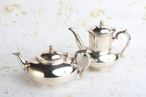 A Rare Complete Robur Silver Plated Tea and Coffee Set - Greystones Antiques