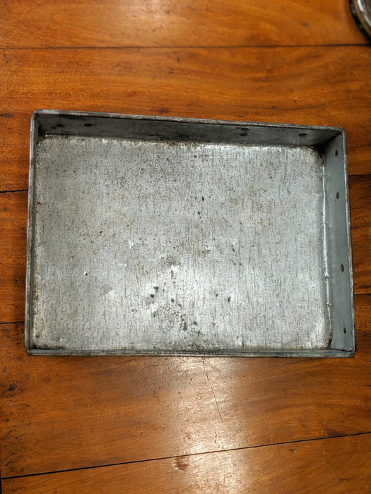 A Rustic Iron Serving Tray - Greystones Antiques