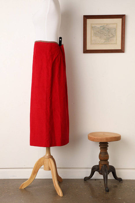 A 1940s Style Handmade Corduroy Skirt - Greystones Antiques