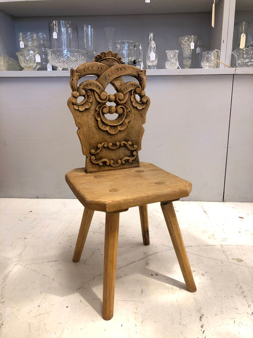 A Pine Child's Chair - Greystones Antiques