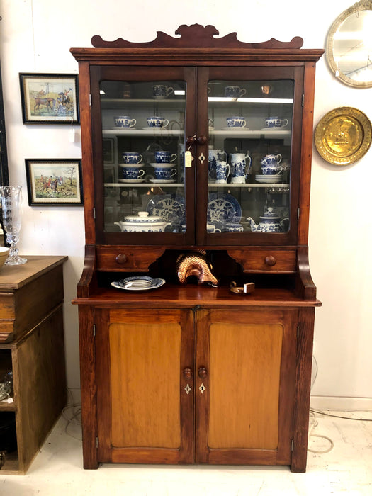 A Late 19th Century European Kitchen Dresser - Greystones Antiques