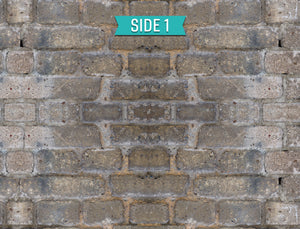 2-Sided Aged Brick/Gray Haze - SnapIt Boards