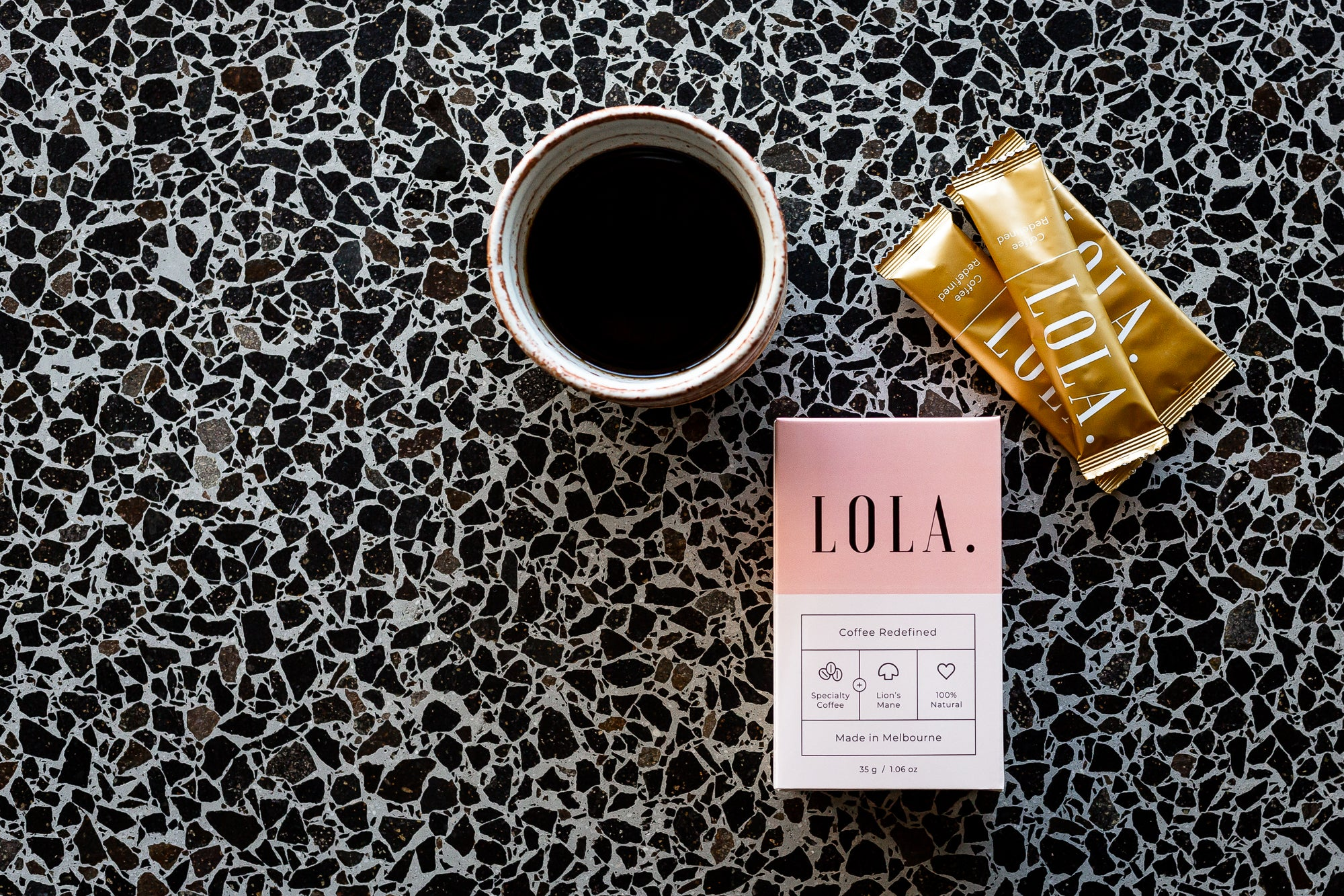 Lola Specialty Instant Coffee with Lions Mane (10 Servings)