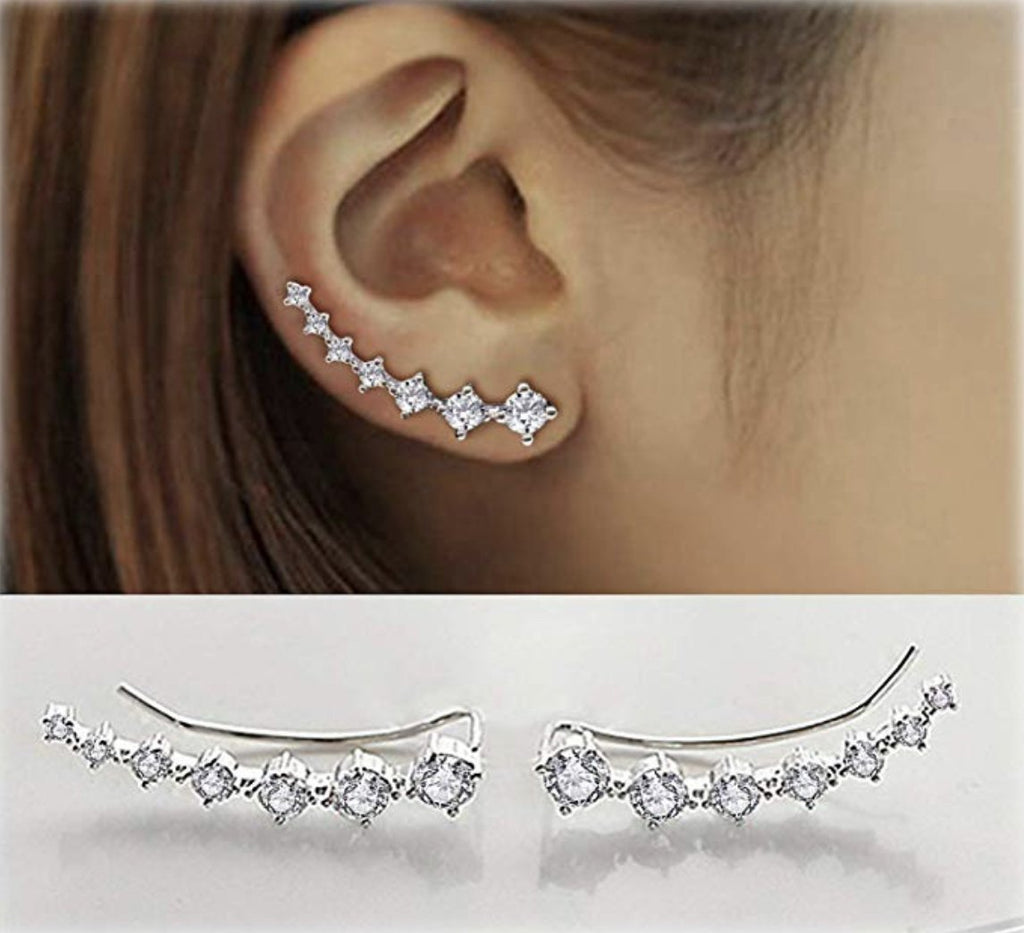 7 Crystals Ear Cuffs