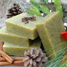 Load image into Gallery viewer, Chagrin Valley Soap and Salve Mistletoe Soap is a seasonal favorite. Rich in natural ingredients and organic oils. Available at www.cherubsblanket.com