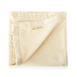 Cherub's Blanket Organic Cotton Deluxe Sherpa Blanket with Lamb Embroidery makes the ultimate stunning baby shower gift.