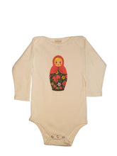 Load image into Gallery viewer, Long sleeved organic cotton baby onesies