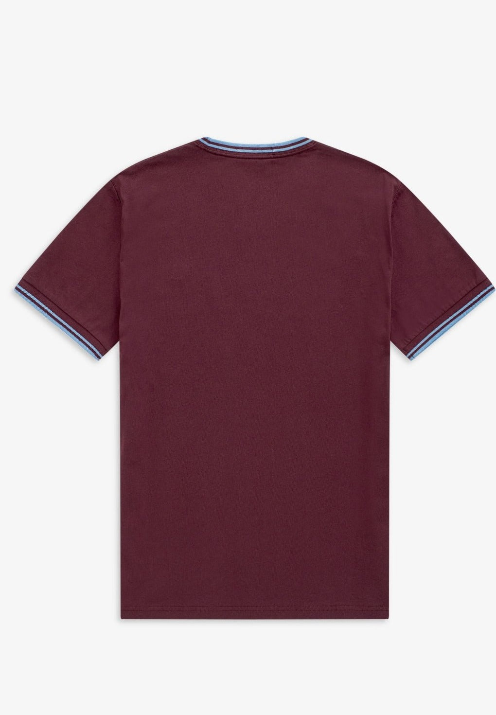 Fred Perry Twin tip t-shirt - Mahogany