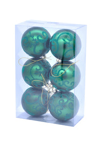 Emerald Green Box of Baubles