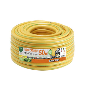 "FLEXYFORT GREEN 3/4"" (19-25mm) 50 METRE-KINK RESISTANT"