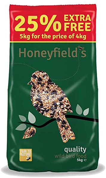 HONEYFIELDS Quality Wild Bird Food 5kg