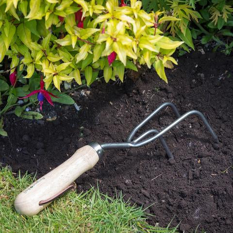 BURGON & BALL Stainless Steel Claw Cultivator
