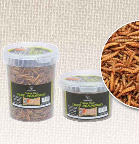 Copdock Mill Dried Mealworms 1Ltr