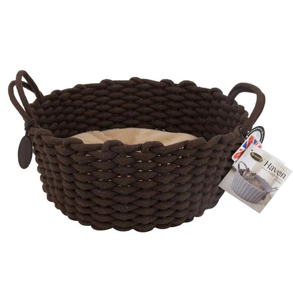 Scruffs Haven Rope Bed Chocolate