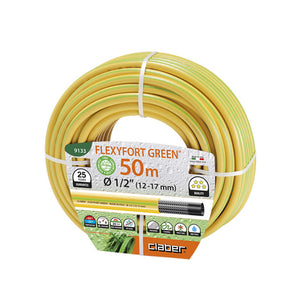 "FLEXYFORT GREEN 1/2"" (12-17mm) 50 METRE-KINK RESISTANT"