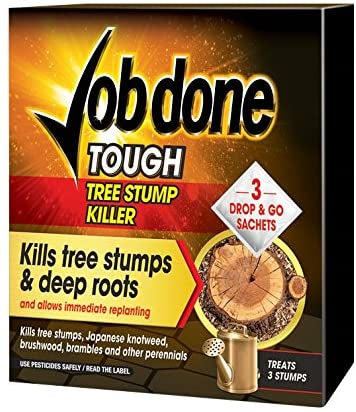 Job Done Tree Stump Killer 3 Sachet