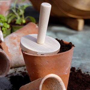 BURGON & BALL GES/POTTAMP New Round Pot Tamper