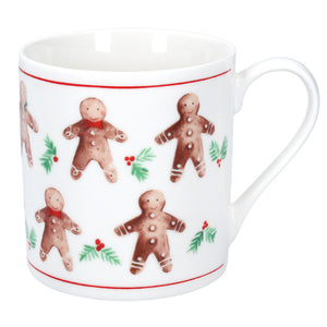 Gingerbread Man Ceramic Mug