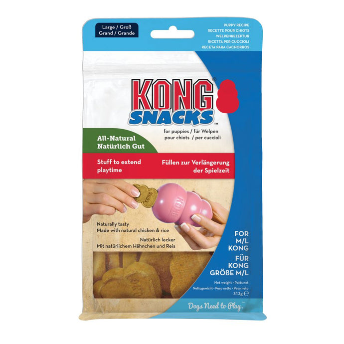 Kong Stuff'n Puppy Snacks Large, 312g