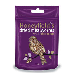HONEYFIELDS Dried Mealworms 1kg