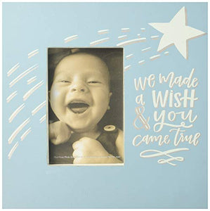 Primitives by Kathy Box Frame, We Made A Wish, Baby Blue