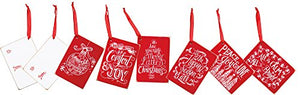 "Primitives by Kathy Chalk Style Gift Tags - Christmas Peace 3.50"" x 2.50"", 2.50"" x 3.50"""