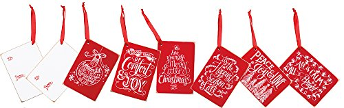 Primitives by Kathy Chalk Style Gift Tags - Christmas Peace 3.50