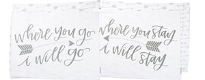 Pillow Case Set - Where You Go