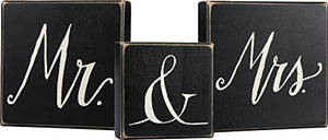 Primitives by Kathy Box Sign Set - Mr and