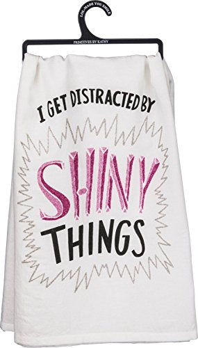 Primitives By Kathy Shiny Things Dish Towel