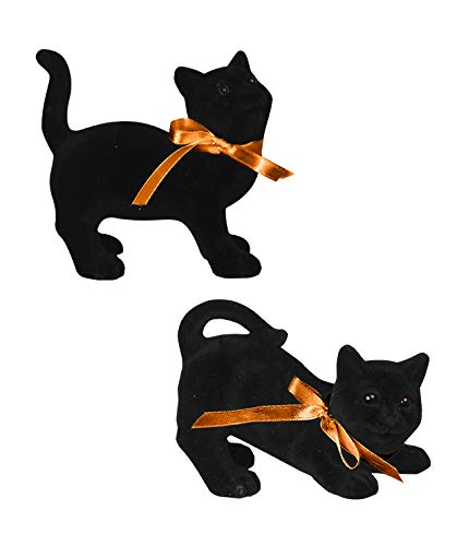 Bethany Lowe Black cat Magic Set of 2