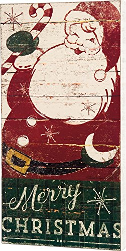 Primitives By Kathy Dan DiPaolo 14 inches x 26.50 inches Box Sign - Merry Christmas