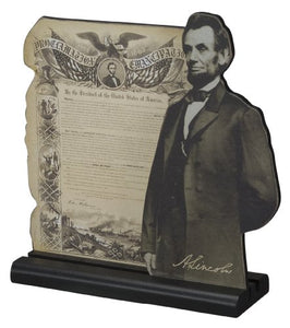 Primitives by Kathy Abraham Lincoln - Emancipation Proclamation
