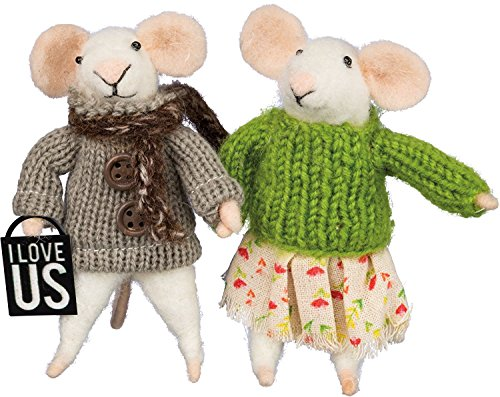 Primitives by Kathy Box Sign-Mice I Love Us