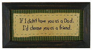 Primitives by Kathy Stitchery - If I Didn't Have You As a Dad