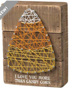 Primitives By Kathy, String Art - Candy Corn