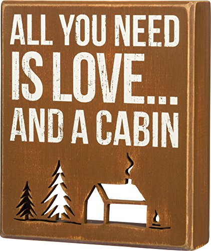Lake & Cabin Sign-