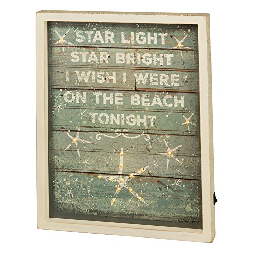 Primitives By Kathy LED Box Sign - Star Light
