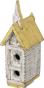 "Primitives by Kathy Bay and Gable Birdhouse, Indoor Decor 3.75"" x 5"" x 11.50"""