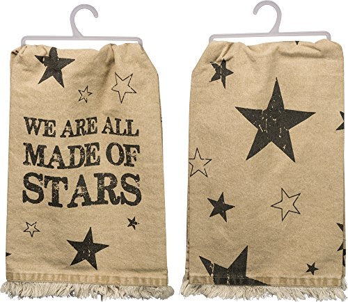 Primitives by Kathy Dish Towel We are All Made of Stars