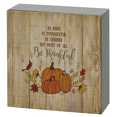CWI Gifts Kind Box Sign, Multi