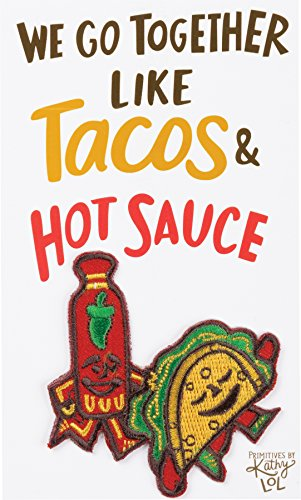 LOL Patch - We Go Together Like Tacos & Hot Sauce