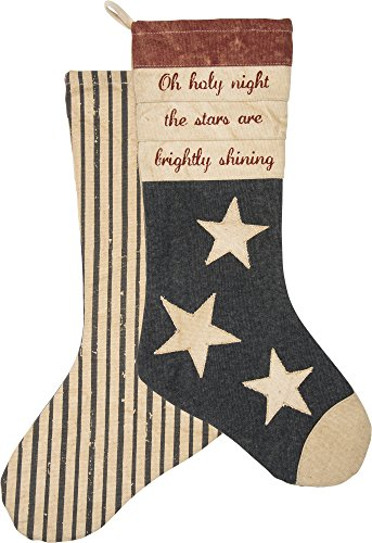 Primitives by Kathy Christmas Stocking Oh Holy Night