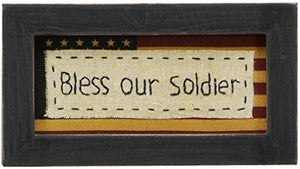 Primitives by Kathy Stitchery, Bless Our Soldier