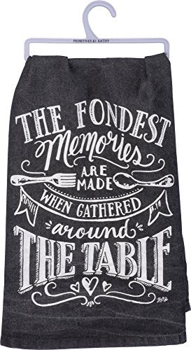 Primitives by Kathy Dish Towel - Fondest Memories 28